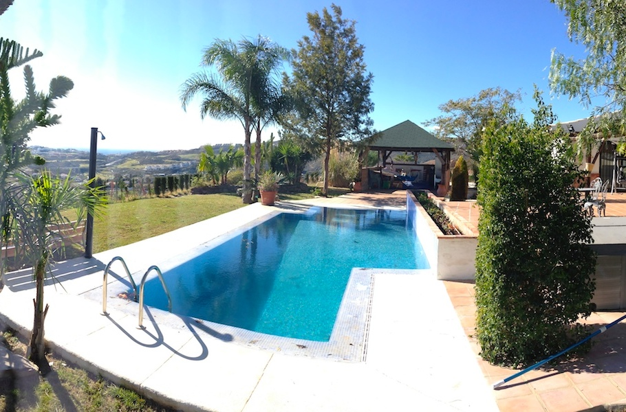 Mijas Campo Modern Villa For Rent Property Solutions Spain